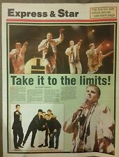 Express & Star Birmingham NEC Take That Tour Special 93/94