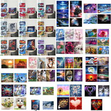 Special Shaped Diamond Painting DIY 5D Partial Drill Cross Kit Crystal 70Pattern