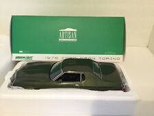 1976 Ford Gran Torino Green 1:18 Diecast Greenlight Artisan Collection 19018