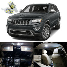 17 x Xenon White LED Interior Lights Package For Jeep Grand Cherokee 2011 - 2018