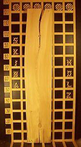63 Buchenholzbrett Dekobrett Regalbrett Massiv 30mm x 22-24cm x 120cm