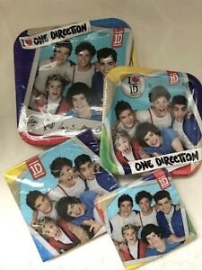 One Direction Tableware Plates & Napkins