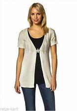 Grobe Damen-Pullover & Strickware mit Kurzarm-Ärmelart aus Baumwolle