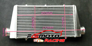 """FMIC Universal Aluminum Turbo Intercooler for 500x290x62mm 3"""" Inlet/Outlet 76mm"""