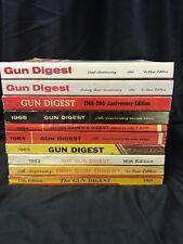 Lot Of 10 Gun Digest Books 1960-1968 Vintage Kg RR2 Magazine Rifle Sportsman