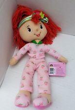 Strawberry Shortcake Plush Soft Pink Doll Red Yarn Hair 2007 KellyToy 65351