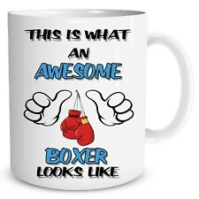 Novelty Boxing Mug Awesome Boxer Coffee Funny Gift Birthday Work Cups Mugs 945