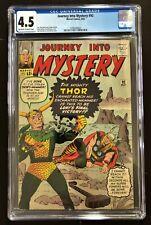 Journey into Mystery #92 CGC 4.5 ow/w. Thor Battles Loki. Classic Jack Kirby.