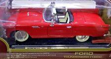 1955 Ford Thunderbird T BIRD Red Die Cast Metal 1:18 Scale Diecast Road Legends