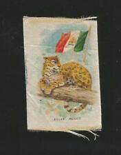 Early cigarette / Tobacco Silk. Jaguar.! circa 1910.! Nice.