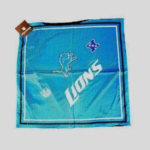 "NFL Detroit Lions Jersey Bandanna Rally Towel 24"" x 24"""