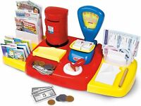 Casdon POST OFFICE SET Pretend Role Play Newspaper Play Money Kids Toy  BN