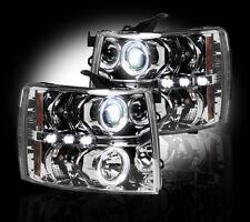 RECON Clear Projector Headlights 264195CL For 2007-2014 Chevrolet Silverado
