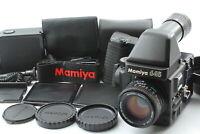 [N MINT] Mamiya M645 Super Prism Finder Sekor C 80mm f/2.8 N Lens From JAPAN