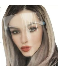 New Clear Face Shield with Glasses Mask Guard GLASS frame Protection
