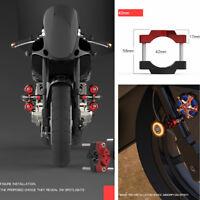 42MM Motorrad Bike Druck Code Stent Halterung mit Innensechskantschraube