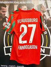 Original Spieltrikot FC Augsburg 21/22   Nr. 27 Alfred Finnbogason   Signiert