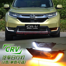 2x LED Fog Light Lamp Daytime Running Light Set For Honda CR-V CRV 2017-2018