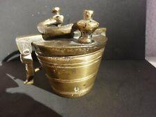 Topfgewicht Bechergewichte Apotheker Gewichte Messing Bronze Biedermeier