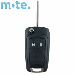 To Suit Holden Barina/Cruze/Trax 2 Button Remote Flip Key Blank Shell/Case/Fob