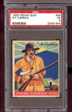 1933 Indian Chewing Gum Goudey #68 Kit Carson PSA 5 Graded Card