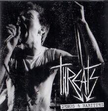 Threats-Demos & rarities CD (1979-1982) CD uk-punk/27 chansons