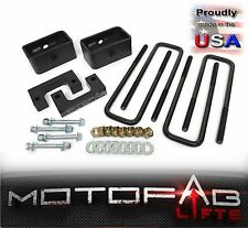 """2"""" Front and 2"""" Rear Leveling lift kit for 2007-2017 Chevy Silverado Sierra GMC"""