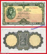 IRLANDA IRELAND REPUBLIC 1 pound libra 1975 1984 Pick 64c   SC- /  AUNC