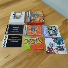 NO Game - Pokemon Fire Red: Box + Inserts Only GBA Gameboy Advance
