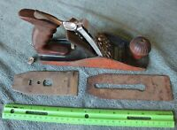 Vintage Wood Plane tool Made in USA with Bakelite handle & parts