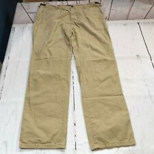 Indian Terrain Men Khakis Chinos Casual Pants Size 38x34 Kansas Fit - D55