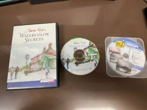 Charles Reid's Watercolor Secrets (A Teaching Art DVD Video) + 10 Minute DVD Art