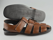 Men's TO BOOT NEW YORK 'Barbados' Brown Fisherman Sandals Size US 12 - D