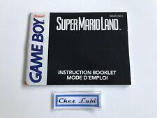 Notice - Super Mario Land - Nintendo Game Boy - PAL FAH 3