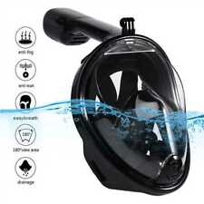 Upgrade Full Face Snorkel Mask Anti-Fog Adult No Leaking L/XL Size 2018 VERSION