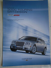 Chrysler 300C Touring SRT Design brochure Feb 2008 German text