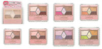 Canmake Perfect Stylist Eyes 5Color Eyeshadow Palette with Brush Ship from JAPAN