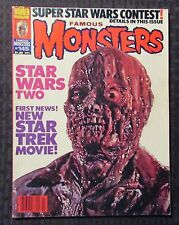 1978 FAMOUS MONSTERS Magazine #145 FN- 5.5 Author F. Paul Wilson FPW Collection