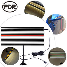 PDR Lined Reflector Board w/two sides Paintless Dent Repair Line Board LED light