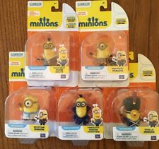 Minions Set of 5 - Kevin Batty Vive Egyptian Medieval Toy Disney New