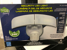 sealed Home Zone Security LED Light, Motion Activated, 240 degree Detection,
