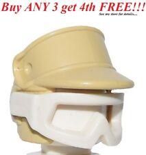 ☀️Lego Minifig Hat Helmet SW Headgear Helmet Hoth Rebel Trooper Starwars Tan