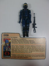 Vintage GI JOE - ACTION FIGURE - 1982 STRAIGHT ARM Cobra Soldier 100% Complete