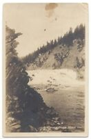 Bow River Falls Banff Postcard By Gowen Sutton Co Correspondence Card