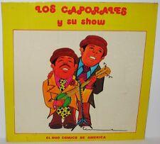 Los Caporales Y Su Show - El Duo Comico De America LP Vinyl Odeon Peru