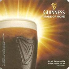 Guinness beer mat - from the UK (ref #66)