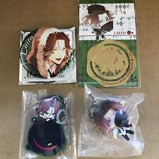 DIABOLIK LOVERS SAKAMAKI LAITO SET Bookmark Pin badge Mascot Charm Strap