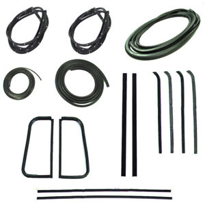 1955 - 1959 Complete Weatherstrips for Chevrolet GMC Pickup Trucks Second Series