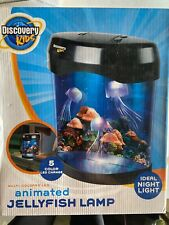 Discovery Kids Multi-colored LED Animated Jellyfish Lamp Night Light