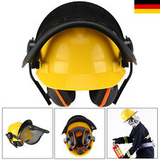 Profi Forsthelm Schutzhelm Functional mit Gehörschutz 52-64CM Neu W1